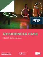 Agendaybios ResidenciaFASE CCR