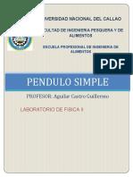 LABO 2 - PENDULO SIMPLE