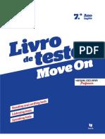Move On 7.º ano - Livro de testes