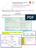 Guías de Español Semana 6, 7, 8 y 9