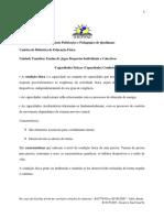 Didactica de Educacao Fisica  2  Trabalho 2020