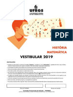 UFRGS MATEMATICA 2019