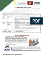 E.DIAGNOSTICA MATEMATICA  3°