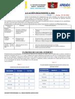 E.DIAGNOSTICA MATEMATICA 5°