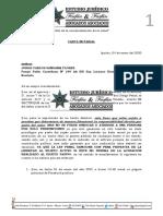 Carta Notarial Rober Quevedo