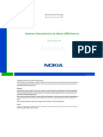 Browser Characteristics in Nokia CDMA Devices v1 3 En