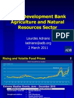 Agriculture RSDD