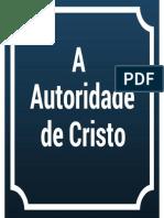 04. A autoridade de Jesus
