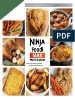 Livre Ninja Foodi Max Presures Recettes
