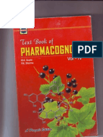 text book of Pharmacognosy- Vol-IV
