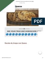 Arepa de Queso _ Receta de Arepa Colombiana Fácil y Deliciosa [2020]