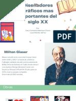 Diseñadores graficos mas importantes del siglo XX (1)