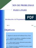 2.  SOLUCION DE PROBLEMAS PASO A PASO
