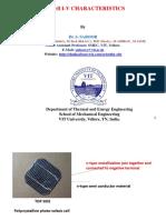 5.PV- IV Characteristics (2)