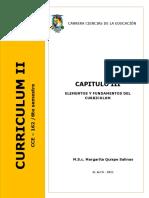 CAPITULO III. Fundamentos Del Curriculo