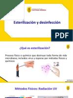 Desinfecion y esterilizacion 2021