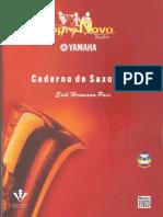 Caderno de Saxofone Yamaha