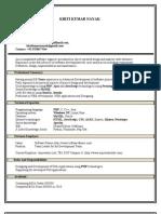 kirti_resume