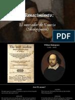 HCyC 4.4 Renacimiento. El Mercader de Venecia