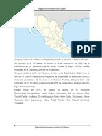 Regiones socioeconómicas de chiapas