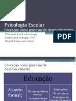Aula 1 Educação como processo de desenvolvimento