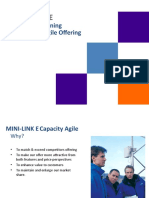 MINI-LINK   E Product Positioning For Capacity Agile Offering Ericsson
