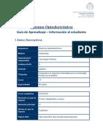 1499_Optolectronica-GUIA APRENDIZAJE FACULTAD-2012_2013