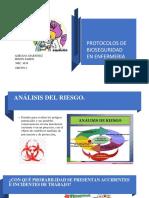 CARTILLA PROTOCOLOS DE BIOSEGURIDAD EN ENFERMERIA
