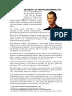 Nicolás Maquiavelo y la organización militar
