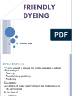 Eco Friendly Vat Dyeing
