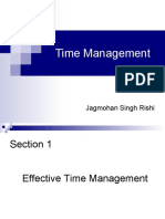 Time Management- Rishi