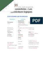 LES CONNECTEURS LOGIQUES-LOS CONECTORES