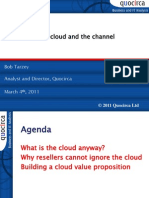 The cloud and the channel