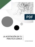 La ACEPTACION en Tu Practica Clinica