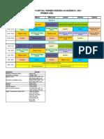 HORARIO DE ATENCIÓN VIRTUAL I PERÍODO 2021_DAGCA1612021_final