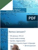 Social media policy voor zelfstandigen (ZZP'ers) en de blauwe garnaal