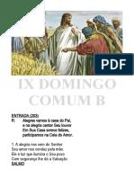IX COMUM B