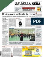 Corriere della Sera 31 Marzo 2020