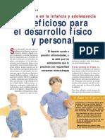 M2 01 4 Doc Deporte en La Infancia y Adolescencia