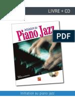 Initiation Piano Jazz