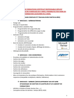 Programme Formation Crs i