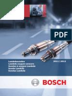 Catalogue Lambda Sensors 2011-2012