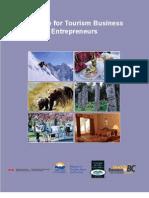 A Guide for Tourism Business Entrepreneurs