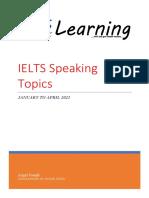 IELTS Speaking Topics Jantoapr21