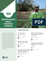 IMVF_Projectos Recentes - Desenvolvimento Rural e Segurança Alimentar