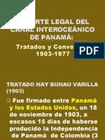 SOPORTE LEGAL DEL CANAL INTEROCEÃ_NICO DE PANAMÃ_