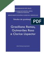 Estudos de Graduação_ Graciliano Ramos, Guimarães Rosa e Clarice Lispector