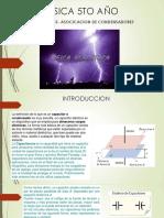 Fisica 5to Ano Condensadores Asociacion de Condensadores