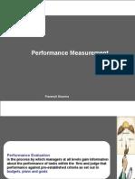 Strategic Performance Measurement