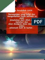 Tujuh Kalimah